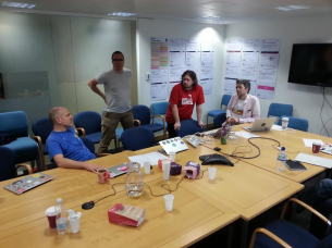 A GDS panel, debriefing post assessment