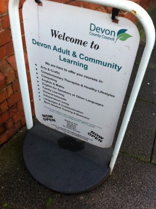 Sign of trusted organisation  - Devon County Council