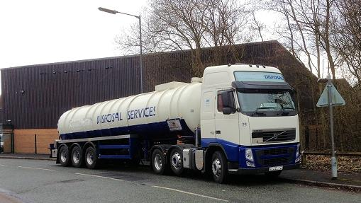 Photo of waste disposal lorry