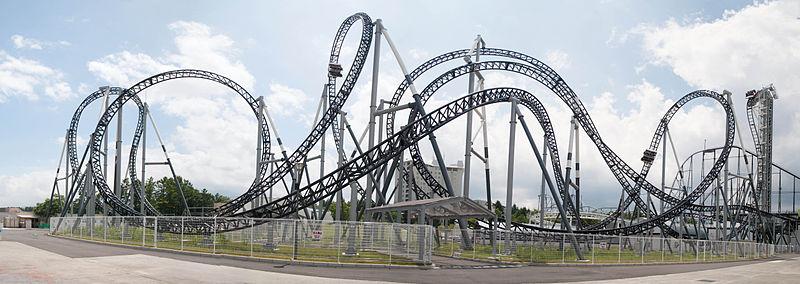 Photo of Takabisha roller coaster